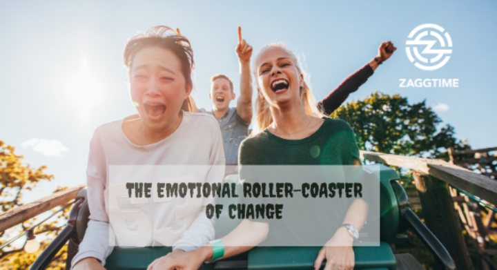 How to ride the emotional roller-coaster of change